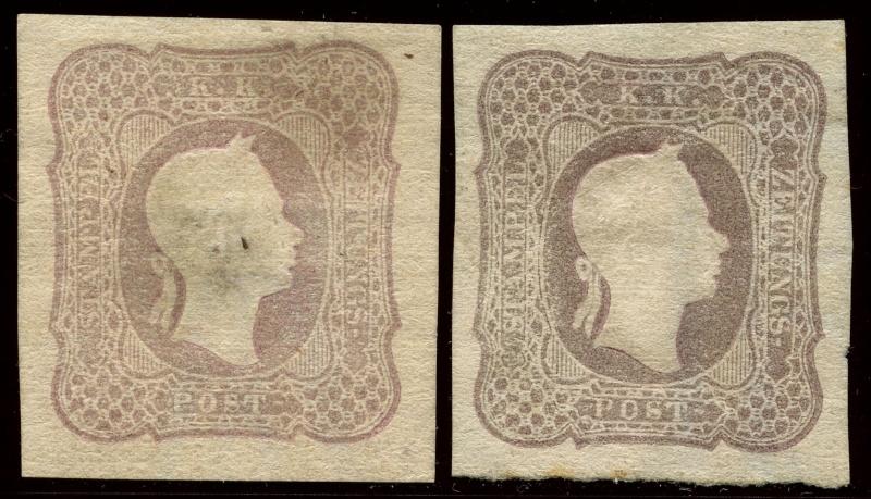 DIE ZEITUNGSMARKEN AUSGABE DES JAHRES 1861 Nd_18710