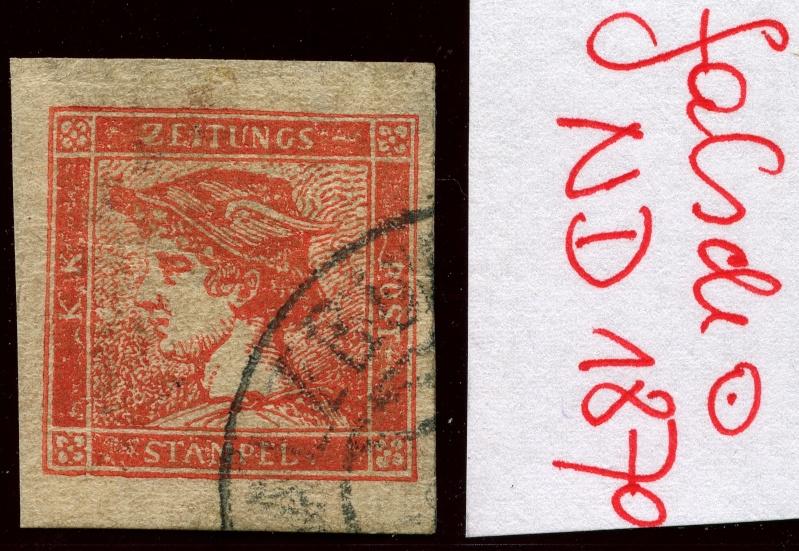 DIE ZEITUNGSMARKEN AUSGABE 1851 Nd_18711
