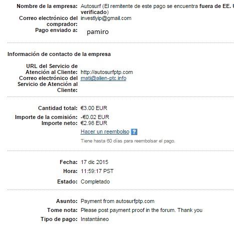 My 4 payment thanks admin !! Autosu10