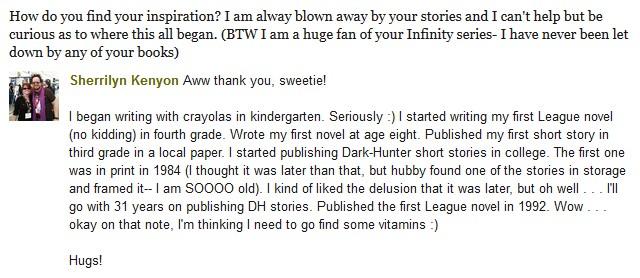 Questions/Réponses sur Goodreads  Inspir10
