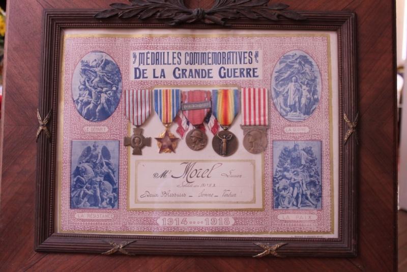 Les décorations de Lucien MOREL mon grand-père maternel Img_4510