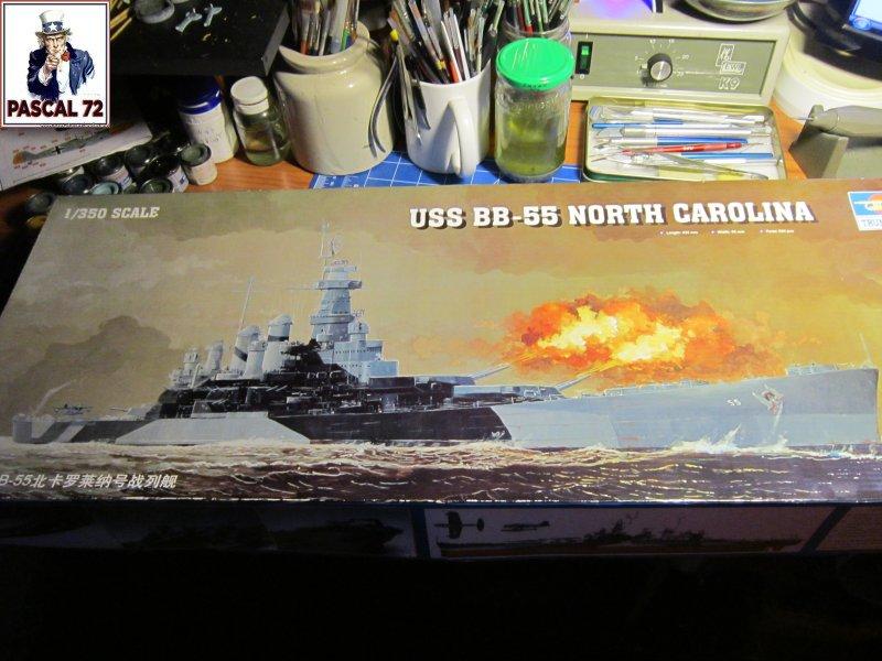 Cuirassé USS BB-55 North Carolina au 1/350 de Trumpeter par pascal 72 Img_5625