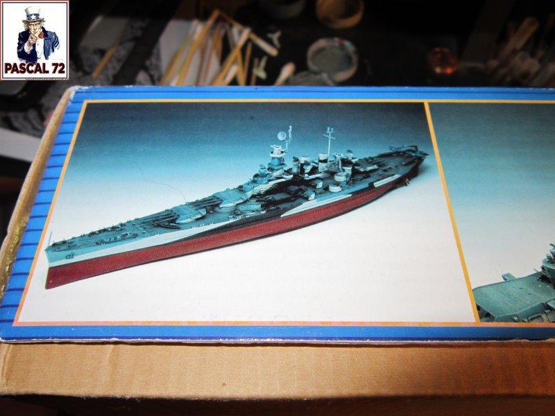 Cuirassé USS BB-55 North Carolina au 1/350 de Trumpeter par pascal 72 Img_5626