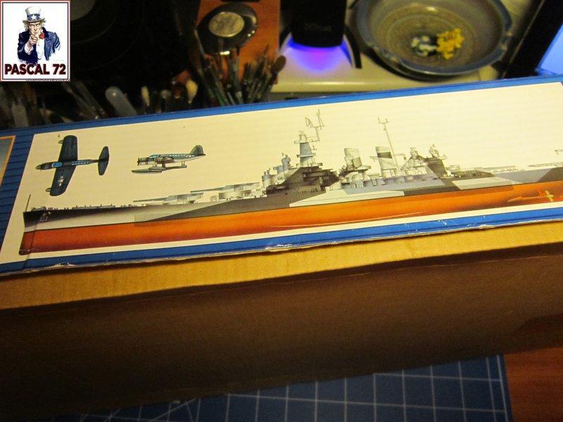 Cuirassé USS BB-55 North Carolina au 1/350 de Trumpeter par pascal 72 Img_5628