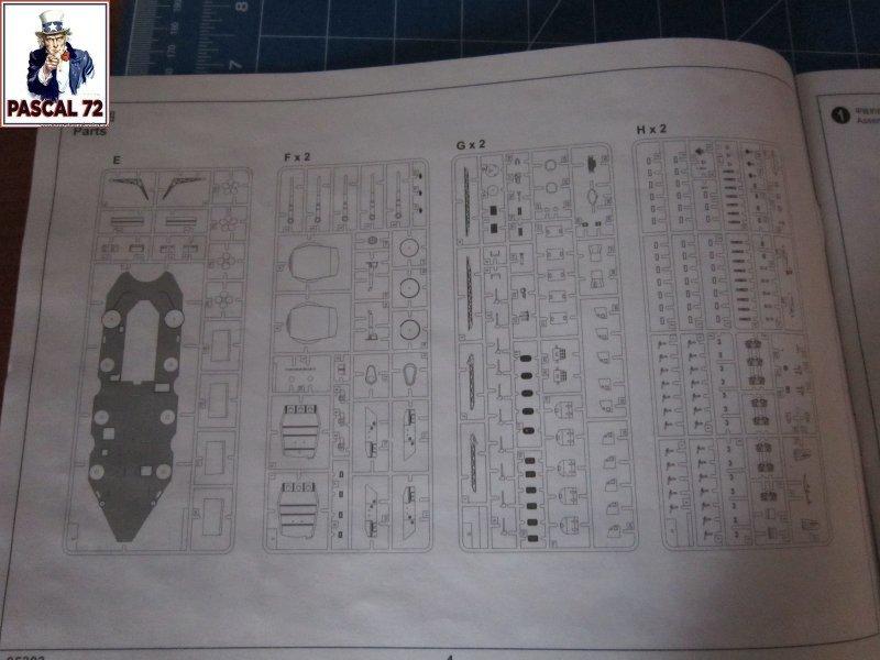 Cuirassé USS BB-55 North Carolina au 1/350 de Trumpeter par pascal 72 Img_5634