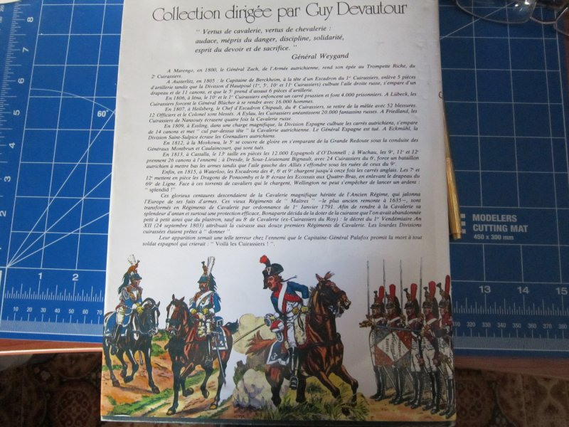 Les uniformes du Premier Empire - Les Cuirassiers - Cdt Bucquoy Img_5738