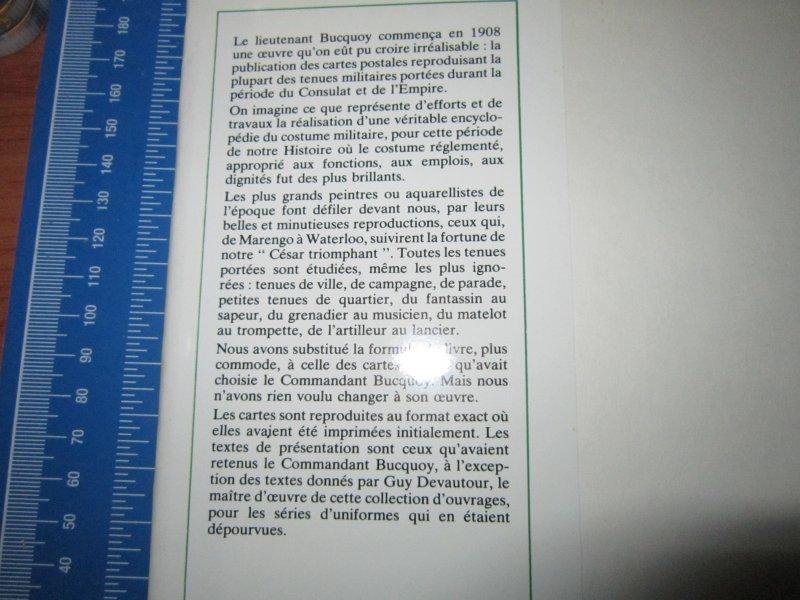 Les uniformes du Premier Empire - Les Cuirassiers - Cdt Bucquoy Img_5739