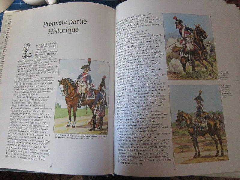 Les uniformes du Premier Empire - Les Cuirassiers - Cdt Bucquoy Img_5741