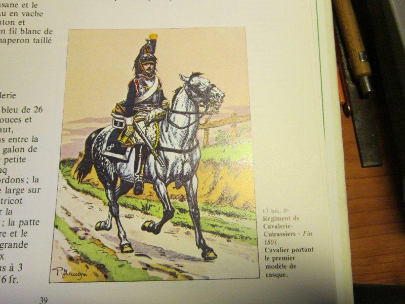 Les uniformes du Premier Empire - Les Cuirassiers - Cdt Bucquoy Img_5744