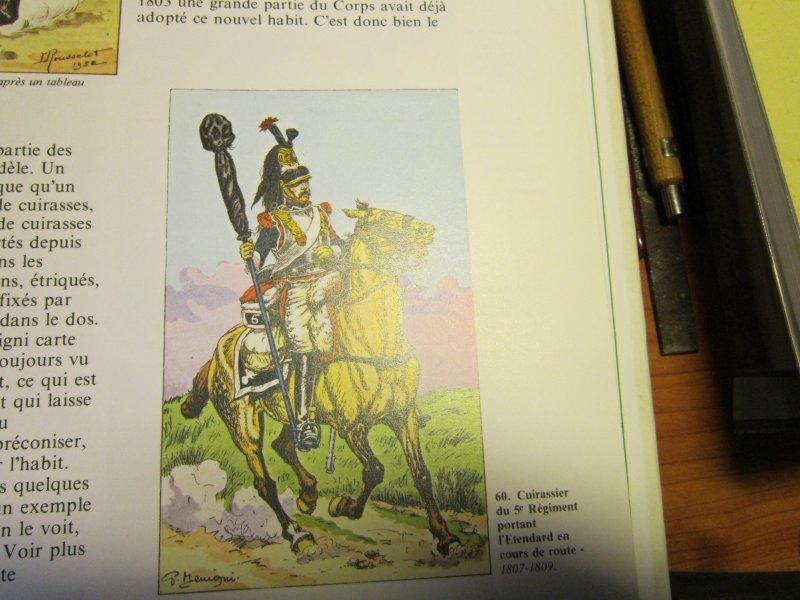 Les uniformes du Premier Empire - Les Cuirassiers - Cdt Bucquoy Img_5745