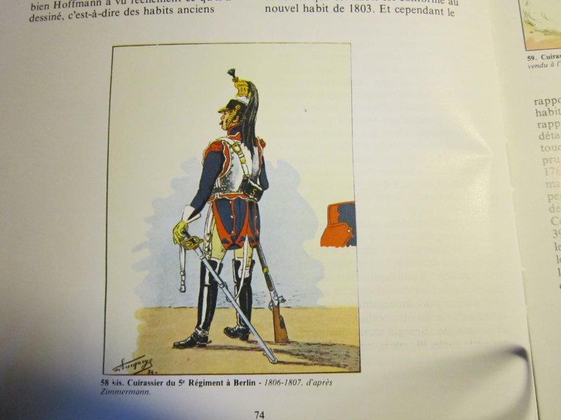 Les uniformes du Premier Empire - Les Cuirassiers - Cdt Bucquoy Img_5746