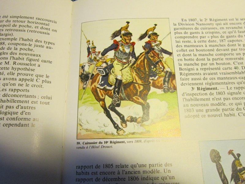 Les uniformes du Premier Empire - Les Cuirassiers - Cdt Bucquoy Img_5747