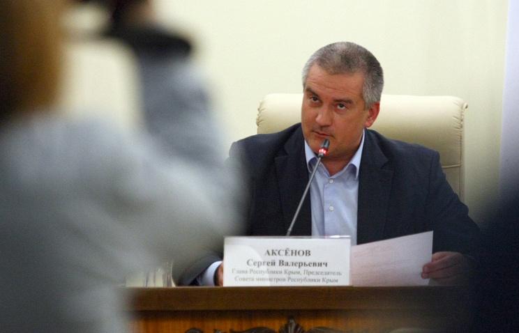 В правительстве РФ удивлены заявлением Аксенова о невыделении средств Крыму 216