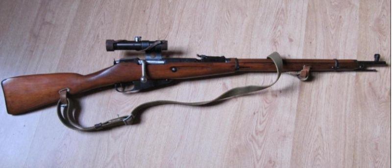 Mosin Nagant... Et possibles modifications - Page 2 Moisin10
