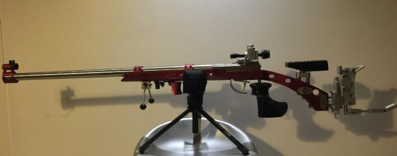 S'adapter au match ISSF 50 ou 300m avec arme TAR , etc... Salva10