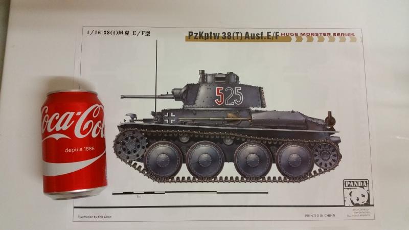 Panzer 38(T) Ausf.E/F - 1/16 - PANDA HOBBY. mise en boue  20151220