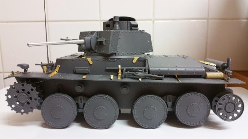 Panzer 38(T) Ausf.E/F - 1/16 - PANDA HOBBY. mise en boue  - Page 2 20151232