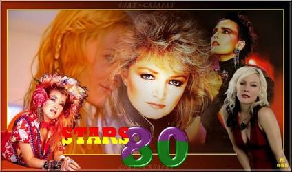 Bannières et photos sur les  chanteurs et chanteuses des années 80 (Créa Pat ) Annyes13
