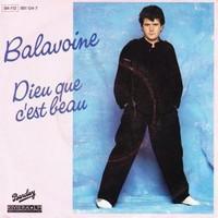 Pochettes de disc de Daniel Balavoine Dieu-q10