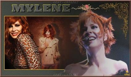 Bannières et photos sur les  chanteurs et chanteuses des années 80 (Créa Pat ) Mylene11