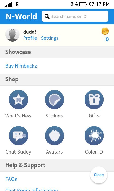 Nimbuzz: Help me plz Screen10