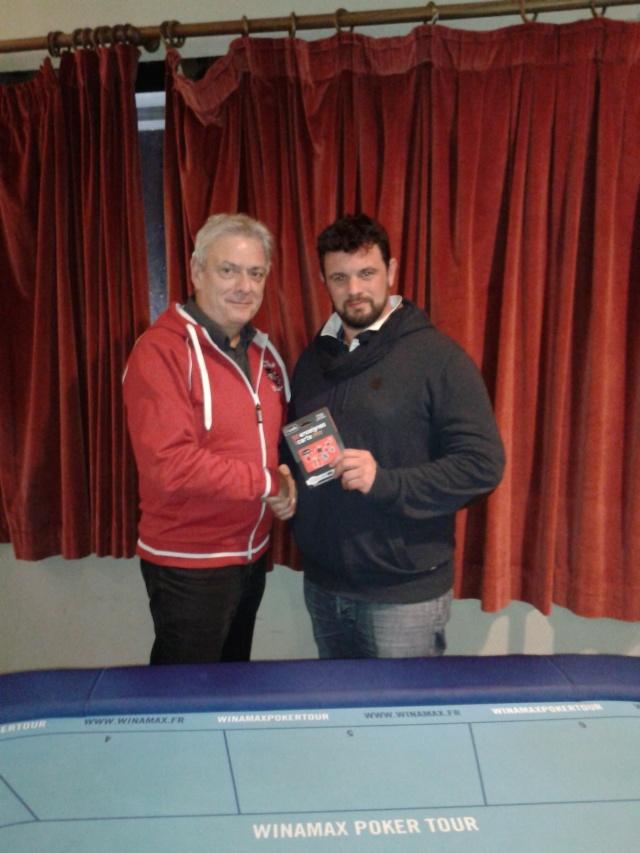 """Vainqueurs Main Event, Side Event et ITM's - Trophée """"Jean-Pierre VERDIERE"""" - Freeroll Deepstack les 21 et 22 Novembre 2015 ! Trophy10"""