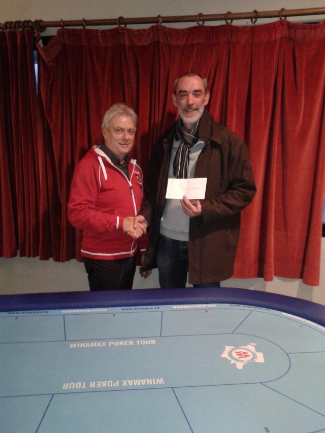 """Vainqueurs Main Event, Side Event et ITM's - Trophée """"Jean-Pierre VERDIERE"""" - Freeroll Deepstack les 21 et 22 Novembre 2015 ! Trophy16"""