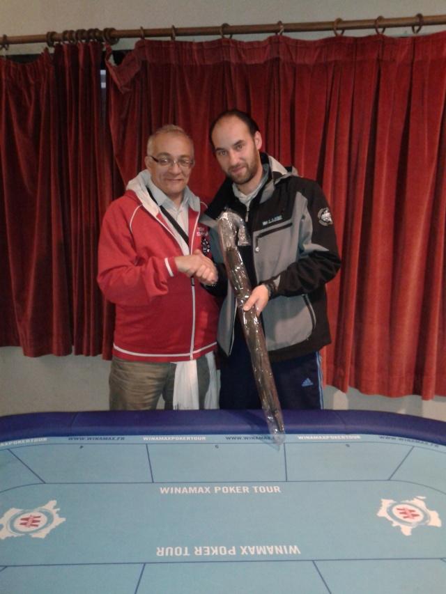 """Vainqueurs Main Event, Side Event et ITM's - Trophée """"Jean-Pierre VERDIERE"""" - Freeroll Deepstack les 21 et 22 Novembre 2015 ! Trophy26"""