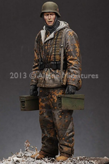 German  MG 42 gunner - ALPINE MINIATURES - Résine - 1/16  120 mm - Page 2 21746310