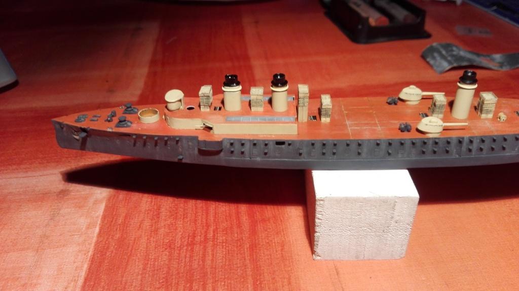 Croiseur Cuirassé Gloire 1/600 scratch intégral  - Page 3 Img_2011