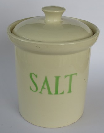 for gallery hand potted salt jar Hand_p10