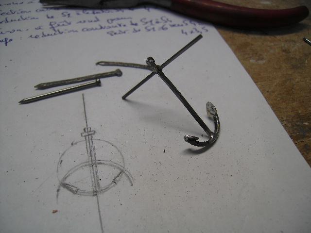 BISQUINE au 1/40 Kit Billing Boats modifié Xavero - Page 5 Ancre_11
