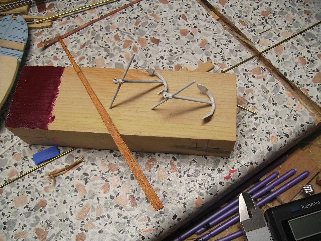BISQUINE au 1/40 Kit Billing Boats modifié Xavero - Page 5 Ancre_13