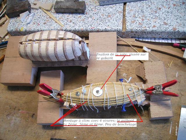 BISQUINE au 1/40 Kit Billing Boats modifié Xavero - Page 4 Bild0013