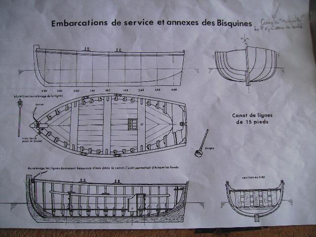 BISQUINE au 1/40 Kit Billing Boats modifié Xavero - Page 4 Canot_10