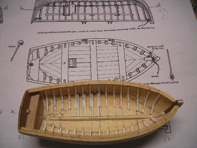 BISQUINE au 1/40 Kit Billing Boats modifié Xavero - Page 4 Canot_23