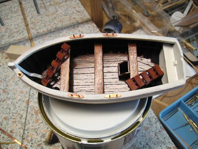 BISQUINE au 1/40 Kit Billing Boats modifié Xavero - Page 4 Canot_30