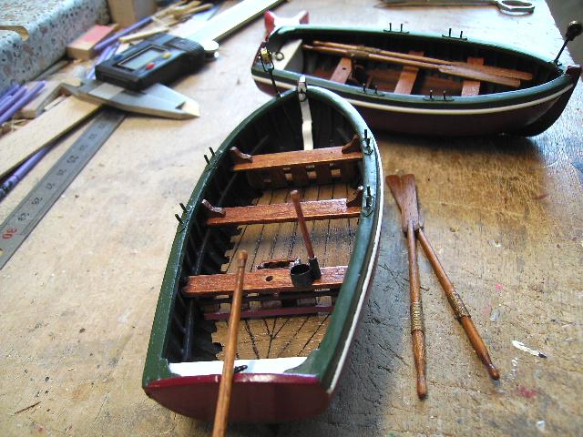 BISQUINE au 1/40 Kit Billing Boats modifié Xavero - Page 4 Canot_32