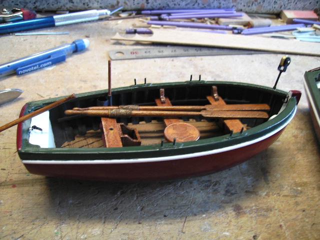 BISQUINE au 1/40 Kit Billing Boats modifié Xavero - Page 4 Canot_35