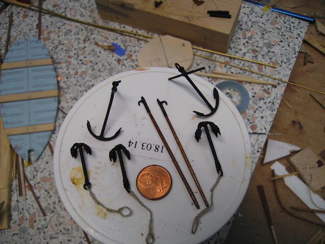 BISQUINE au 1/40 Kit Billing Boats modifié Xavero - Page 5 Grappi22