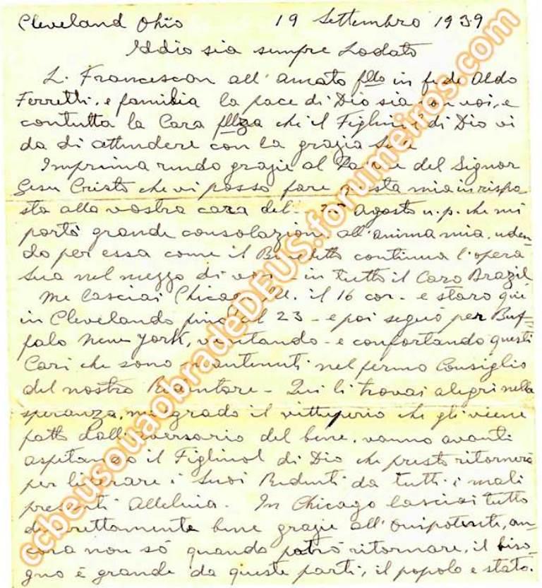Ao irmão Aldo Ferretti, 19 de Setembro de 1939 Carta_24
