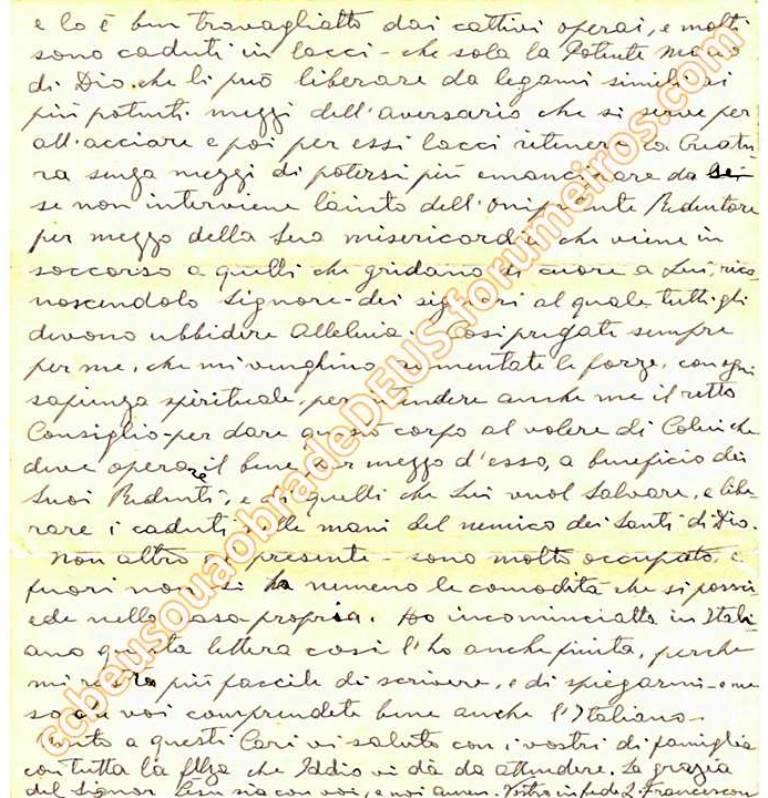Ao irmão Aldo Ferretti, 19 de Setembro de 1939 Carta_25