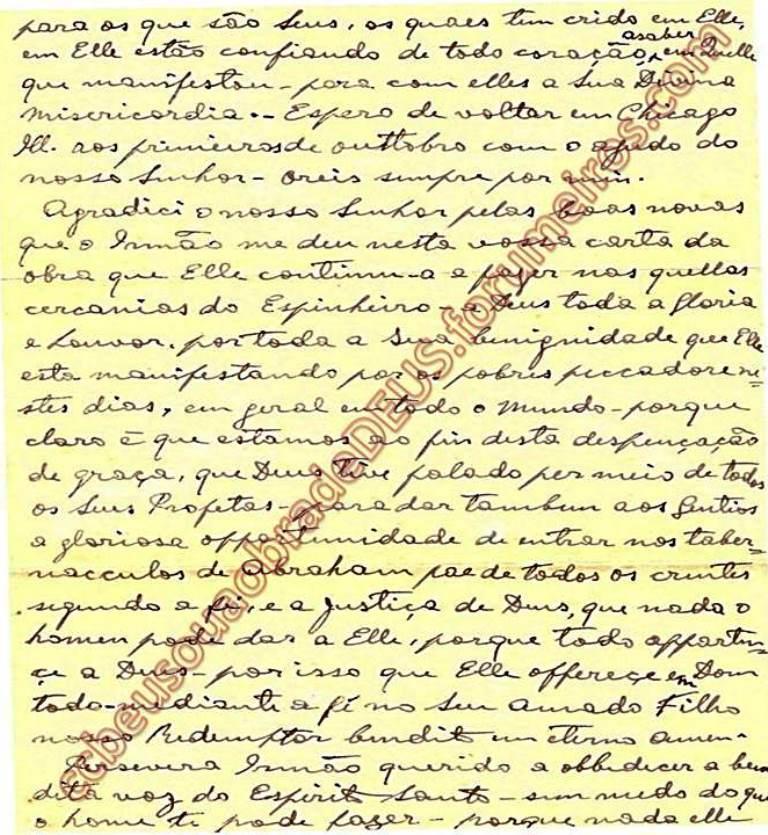 Ao irmão Aldo Ferretti, 27 de Setembro de 1938 Carta_49
