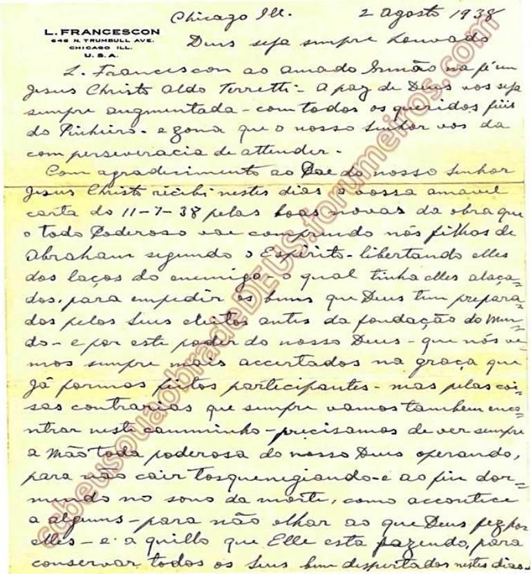 ao irmão Aldo Ferrete, 02 de Agosto de 1938 Carta_52