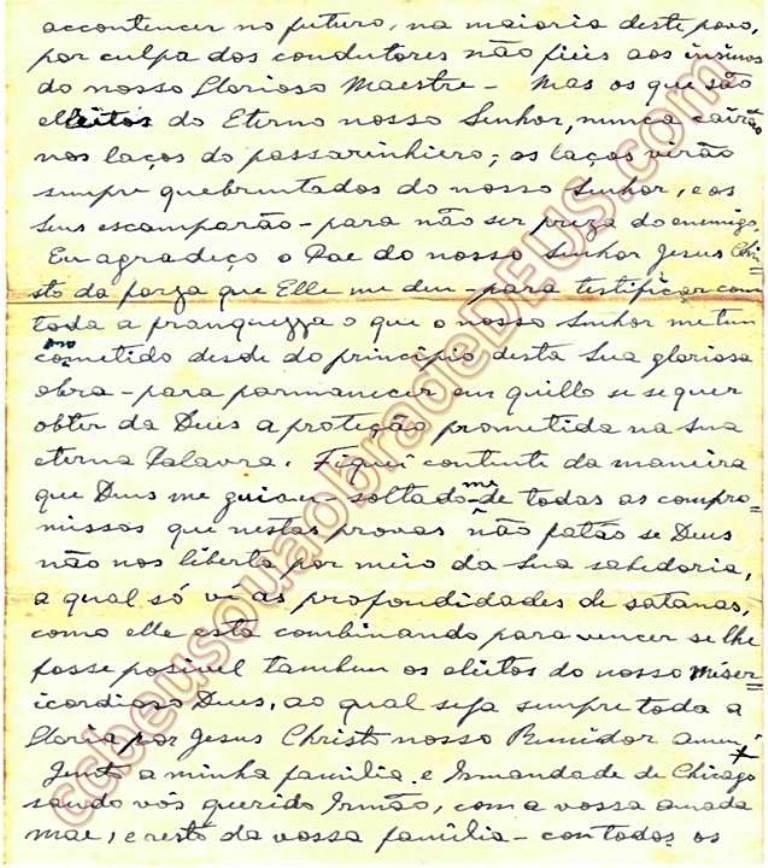ao irmão Aldo Ferrete, 02 de Agosto de 1938 Carta_54