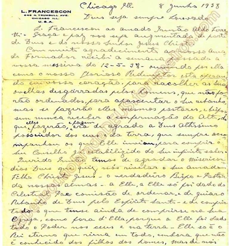 ao irmão Aldo Ferretti, 08 de Junho de 1938 Carta_57