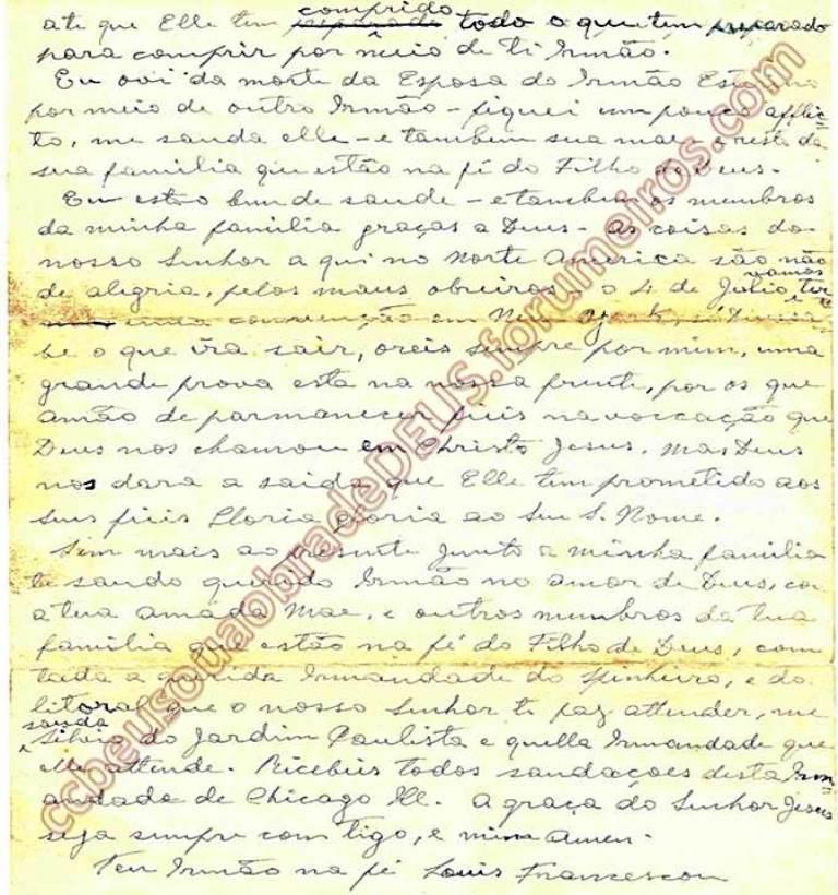 ao irmão Aldo Ferretti, 08 de Junho de 1938 Carta_60