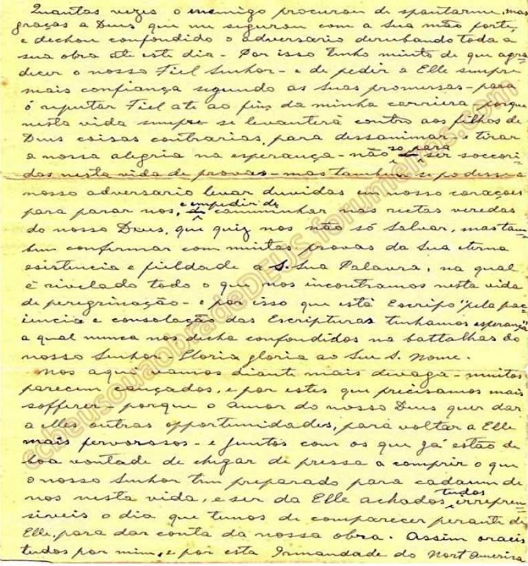 ao irmão Aldo Ferrete, 19 de Janeiro de 1938 Carta_67