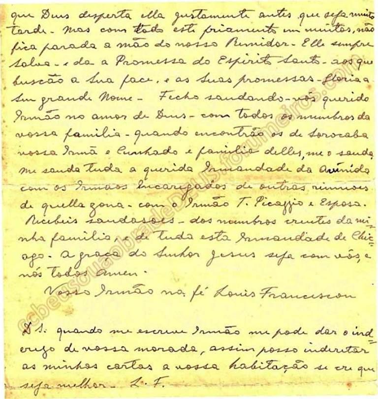 ao irmão Aldo Ferrete, 19 de Janeiro de 1938 Carta_68
