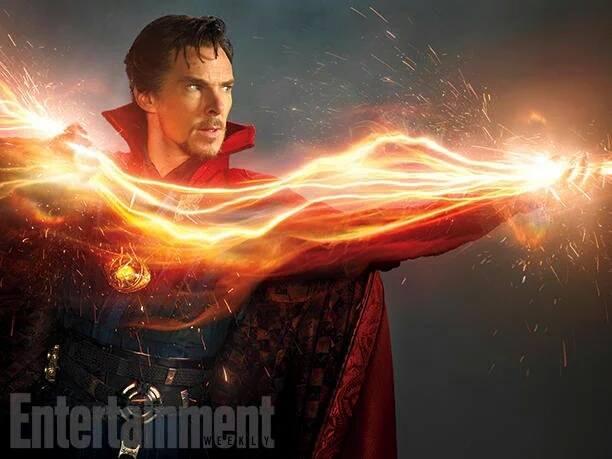 Doctor Strange, avec Benedict Cumberbatch (Marvel) Strang11